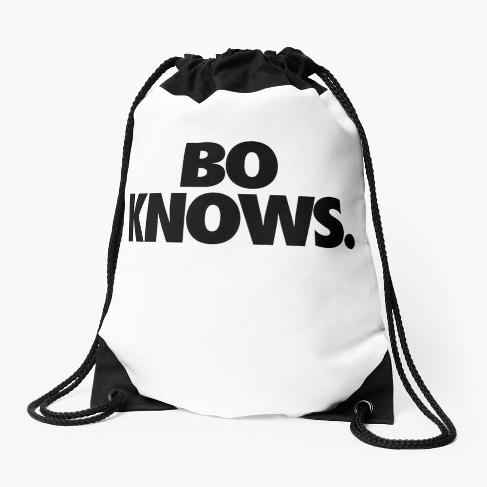 Bo Knows Drawstring Bag