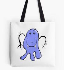 Lil Blue Monster Tote Bag