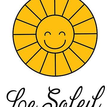 Funny Smiling Happy Sunny Summer Sun by ellumination