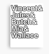 Mia Wallace - Pulp Fiction Metal Print