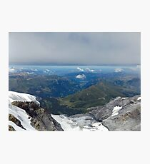 Top of Europe Photographic Print