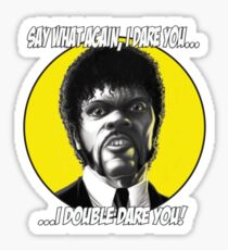 Jules quotes - Pulp Fiction Sticker