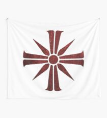 The Cross Symbol Wall Tapestry