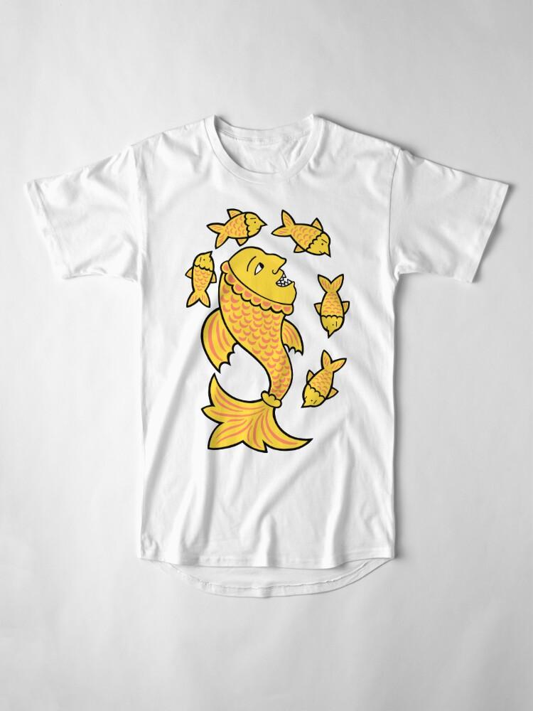 Alternate view of It's a fish eat fish world Long T-Shirt