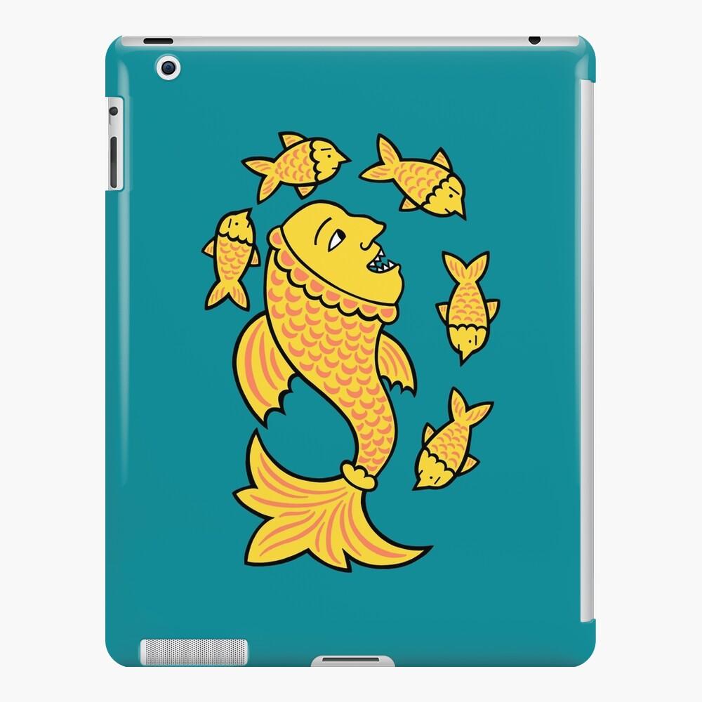 It's a fish eat fish world iPad Case & Skin