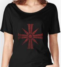 The Cross Symbol Women's Relaxed Fit T-Shirt