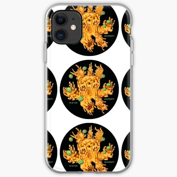 M is for MACREEPY MAC AND CHEESE! iPhone Soft Case
