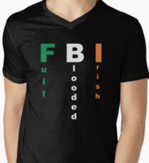 Full Blooded Irish Men's V-Neck T-Shirt