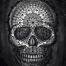 Mandala Skull by Felipe Navega