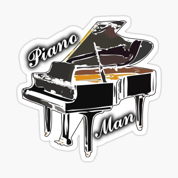 Billy Joel - Piano Man Sticker