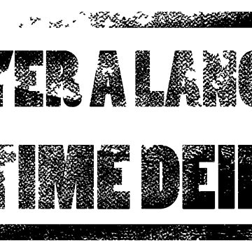 Yer a Lang Time Deid by SmithDesign