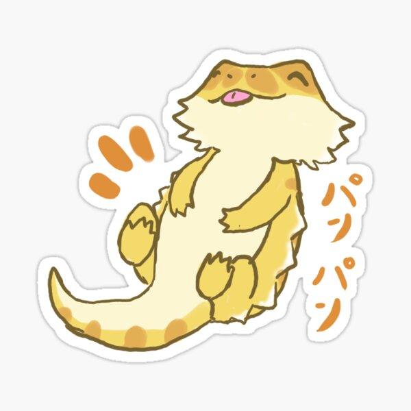 Lizard Pan Pan! Sticker