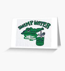 Swamp water Greeting Card