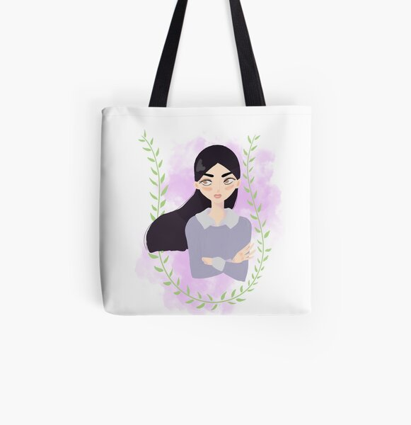 Paleness Allover-Print Tote Bag