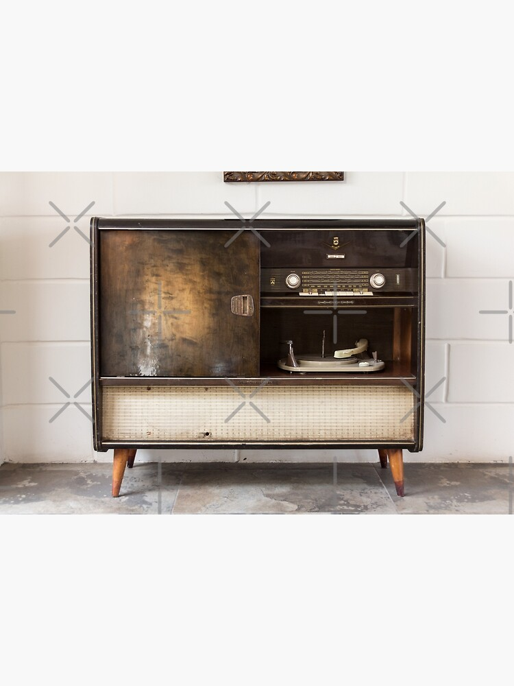 Antique record player turntable and stereo unit by kpander
