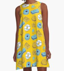 Blue Biscuits A-Line Dress