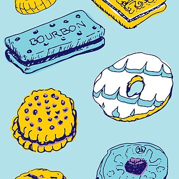 Blue Biscuits by KayWhittaker