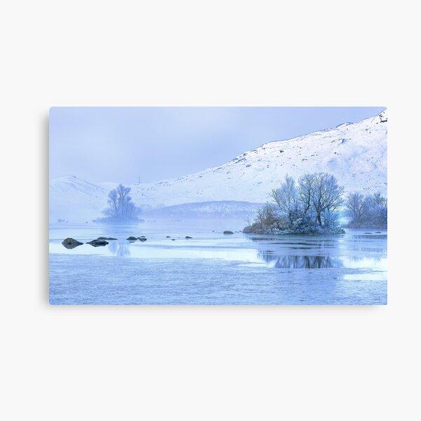 Frosty morning on Rannoch Moor, Glencoe, Scottish Highlands, UK Canvas Print