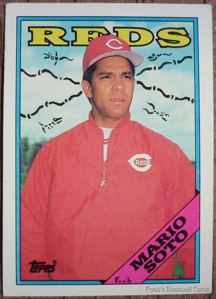 011 - Mario Soto by Foob's Baseball Cards