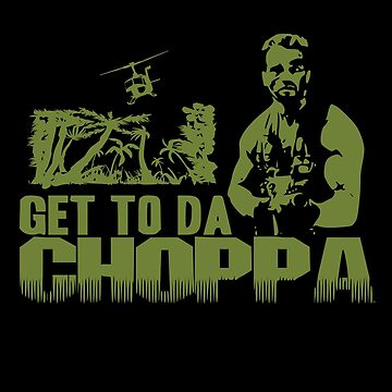 Arnold - Get to the Choppa by inkstyl
