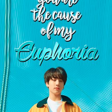 You Are The Cause Of My Euphoria!!! Jungkook (BTS) phone case by Caroline-Wang