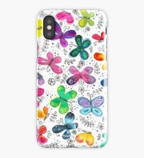 Butterflies   Inkies Pattern Collection iPhone Case