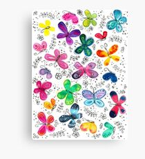Butterflies | Inkies Pattern Collection Canvas Print