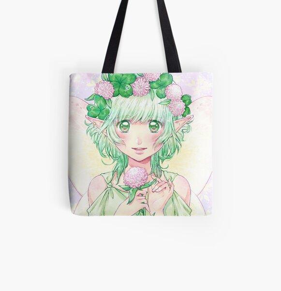 Fernweh - Clover Leaf Fairy All Over Print Tote Bag