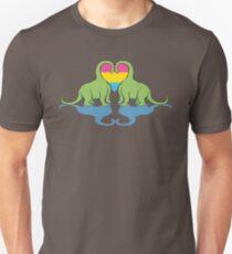 Pan Pride - Dino Love Unisex T-Shirt