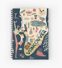 Beautiful Vancouver Spiral Notebook