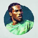 Geometric Okocha by Mark White