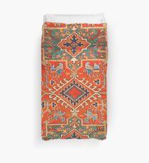 Karadaja Antique Persian Rug Duvet Cover