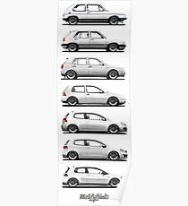 Generation Golf GTi (white) Poster