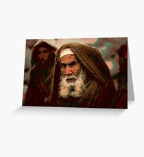 Wizened By War Greeting Card