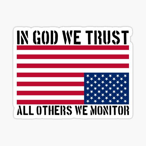 In God We Trust Sticker