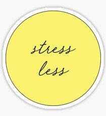 Stress Less Sticker