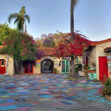 Spanish Village Art Center Balboa Park San Diego by DianaG