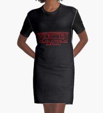 Eighties Baby Graphic T-Shirt Dress