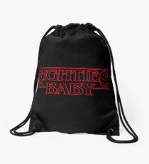 Eighties Baby Drawstring Bag