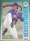 017 - Bill Krueger by Foob's Baseball Cards