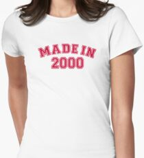 Made in 2000 Womens Fitted T-Shirt