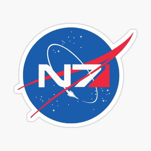 N7 NASA Mass Effect  Sticker
