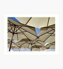 Under My Umbrella ... Art Print
