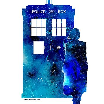 The 13th Doctor with the TARDIS by TARDISRepairman