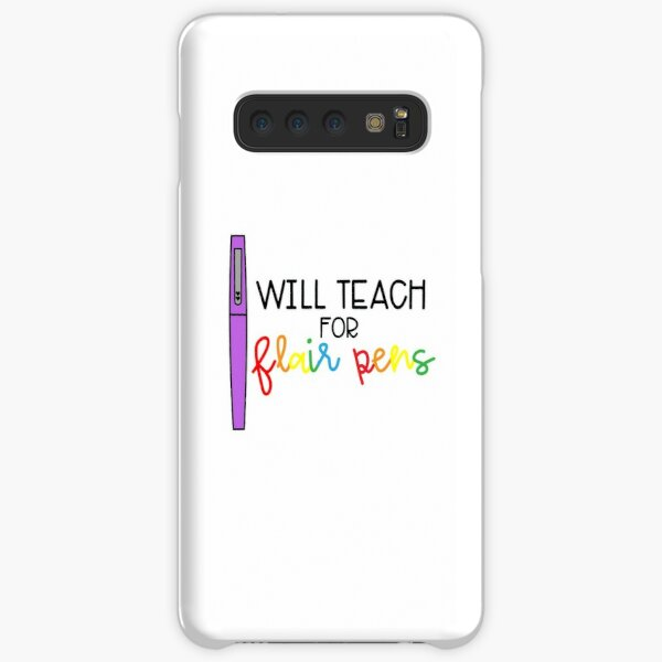 Will Teach for Flair Pens (Color) Samsung Galaxy Snap Case