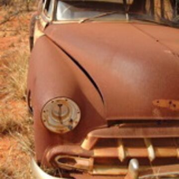 1950 Chev at rest near Minilya by nickpage