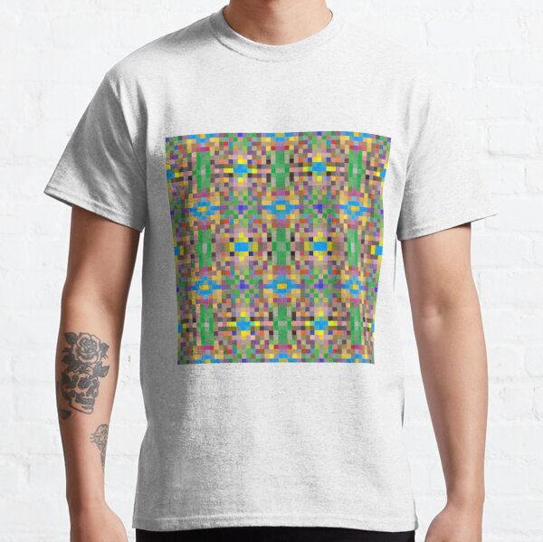 pattern, tracery, weave, template, routine, refined, exquisite, elegant Classic T-Shirt