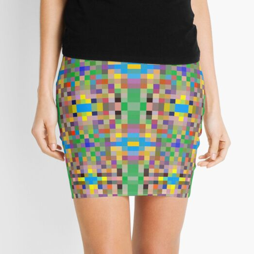 pattern, tracery, weave, template, routine, refined, exquisite, elegant Mini Skirt