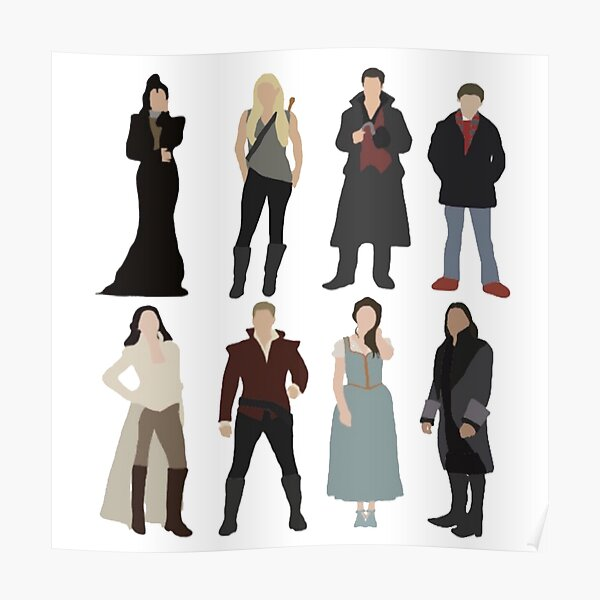 OUAT Main Characters Poster