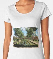 French garden. Women's Premium T-Shirt